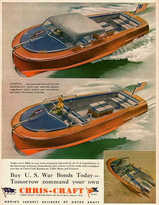 Chris Craft Advertisement