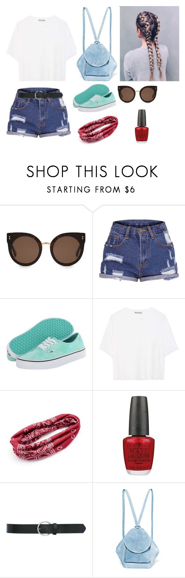 """Untitled"" by u8278 ❤ liked on Polyvore featuring STELLA McCARTNEY, Vans, Vince, Mudd, OPI, M&Co and MANU Atelier"