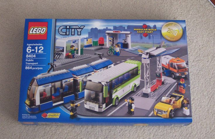 Lego City Town 8404 Public Transport Station NISB factory sealed