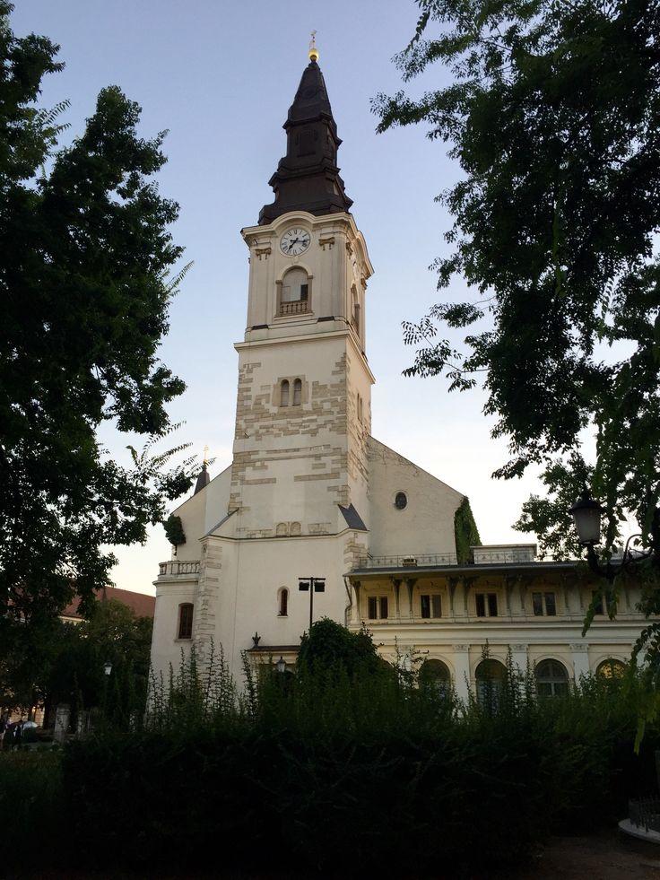 Calvinist Church of Kecskemét (Kecskeméti Református Egyházközség Temploma), Kecskemét, Hungary, Photo by Megan K. Lethbridge
