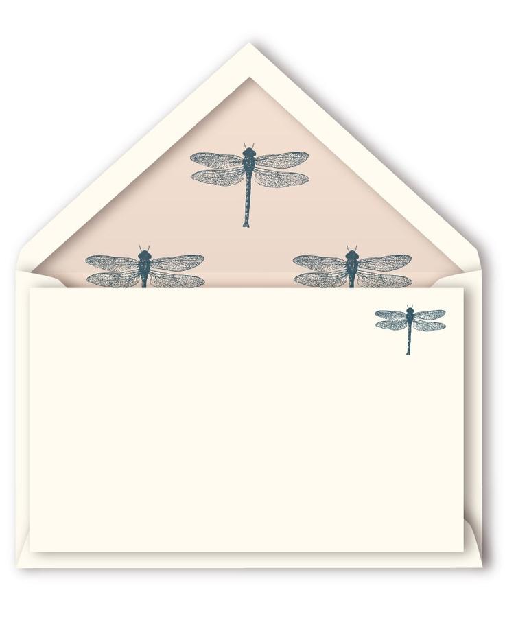 Tarjetas libélulas