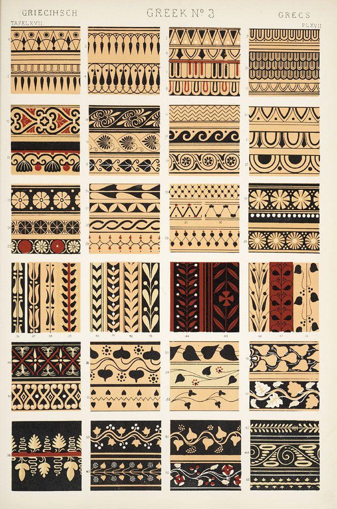 Jones, Owen, 1809-1874. / The grammar of ornament (1910)  [Greek ornament. Plates 15, 16, 17, 18, 19, 20, 21, 22],   pp. PL. XV-PL. XXII ff.