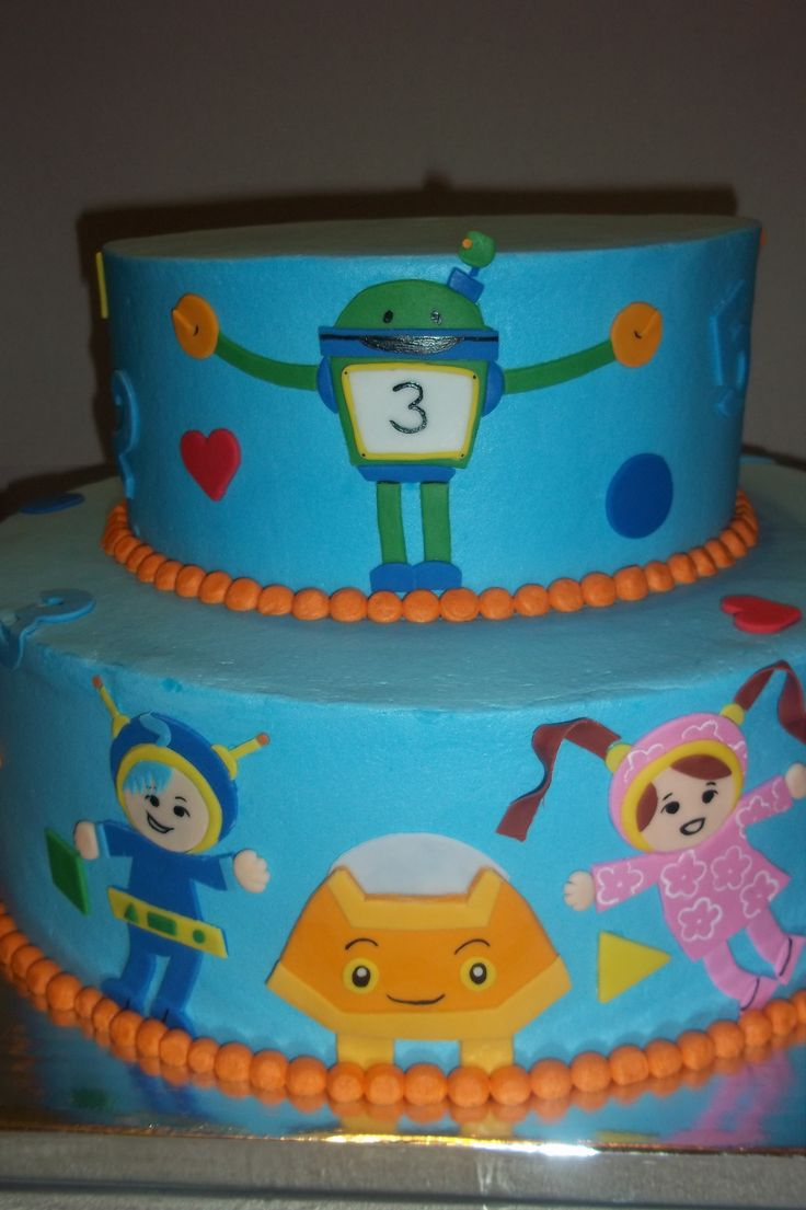 Cake Decorating Team Names : 38 best images about Team Umi Zoomi Cakes on Pinterest ...