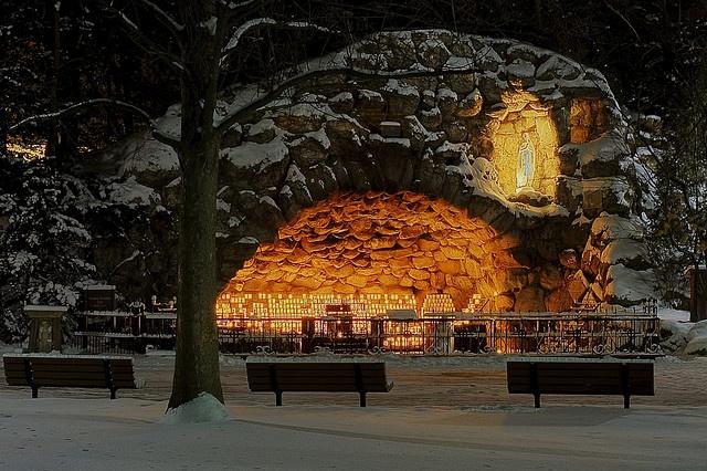 Grotto, University of Notre Dame | Places | Pinterest ...