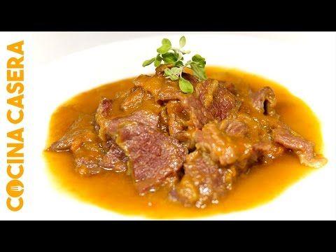 Ternera en Salsa de Ostras con Cooking chef de kenwood - YouTube