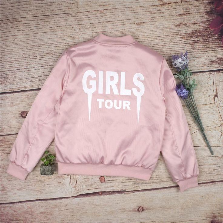 Material: Cotton, Polyester, Satin Decoration: Girls Tour Sleeve Length: Full Clothing Length: Regular Pattern Type: Girls Tour Collar: Stand Closure Type: Zipper Sleeve Style: Regular Type: Slim Hood