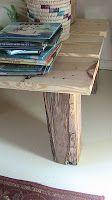 Happy Hearts At Home: Rustic Homemade DIY Twin Platform Bed