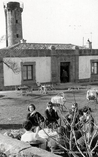 Antiguo bar en el fuerte de La Galea, 3 de abril de 1966 (Cedida por Ignacio Azaola) (ref. 04068)