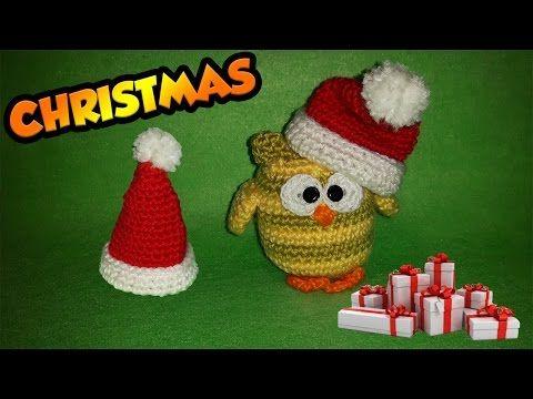 Cappellino Babbo Natale Uncinetto Tutorial-Chapéu de Papai Noel Croche - Sombrero Santa Claus #natale #uncinetto #cappellino #christmas #crochet #navidad #chapeu #papai #noel #hat  #claus #gorro #tutorial #amigurumi #croche #patron #pattern