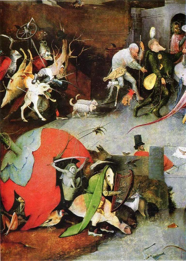 Hieronymus Bosch The Temptation Of Saint Anthony 1