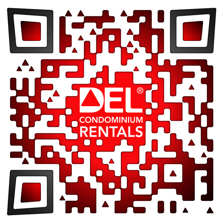 Check out this #SuperCool Custom Designed QR Code for Del Condominium Rentals: by The www.RentSeeker.ca Team
