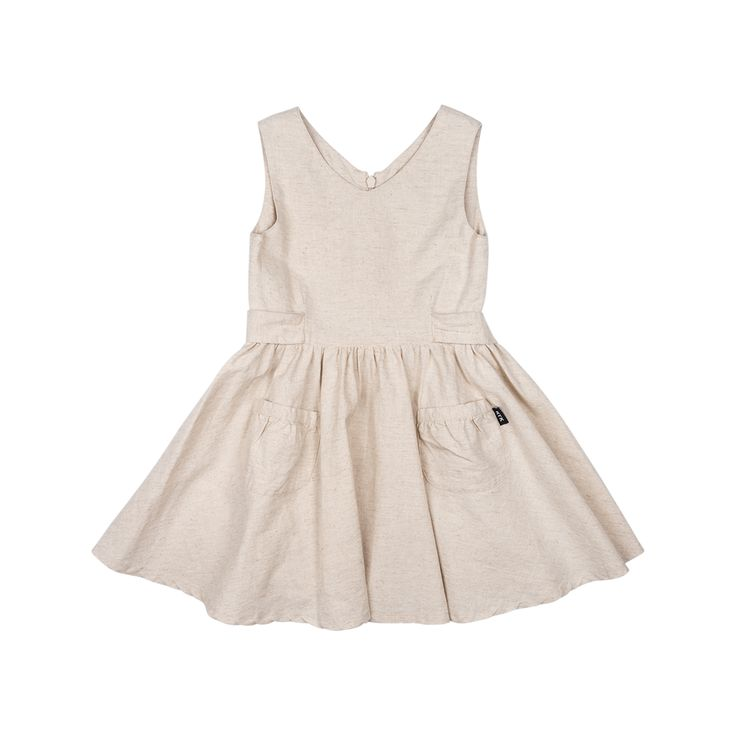 Rock Your Baby - Lola Dress In Oatmeal
