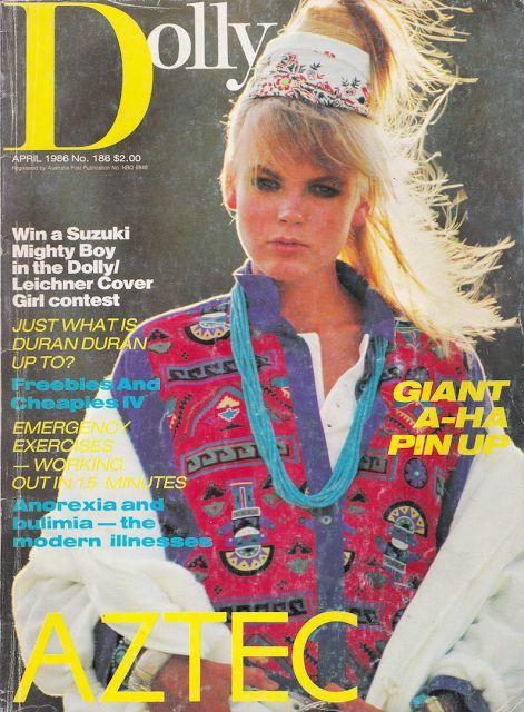 1980's Dolly Magazine