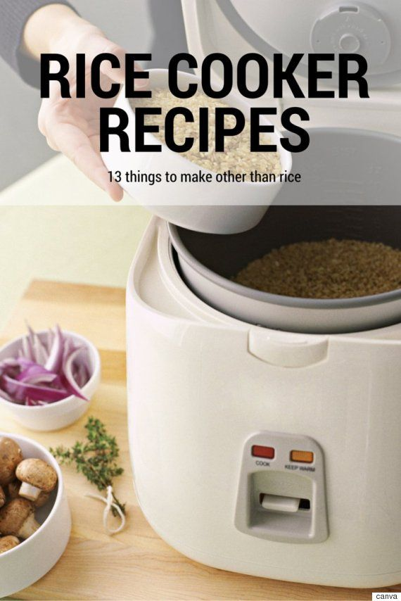 13 Rice Cooker Recipes You Have To See To Believe
