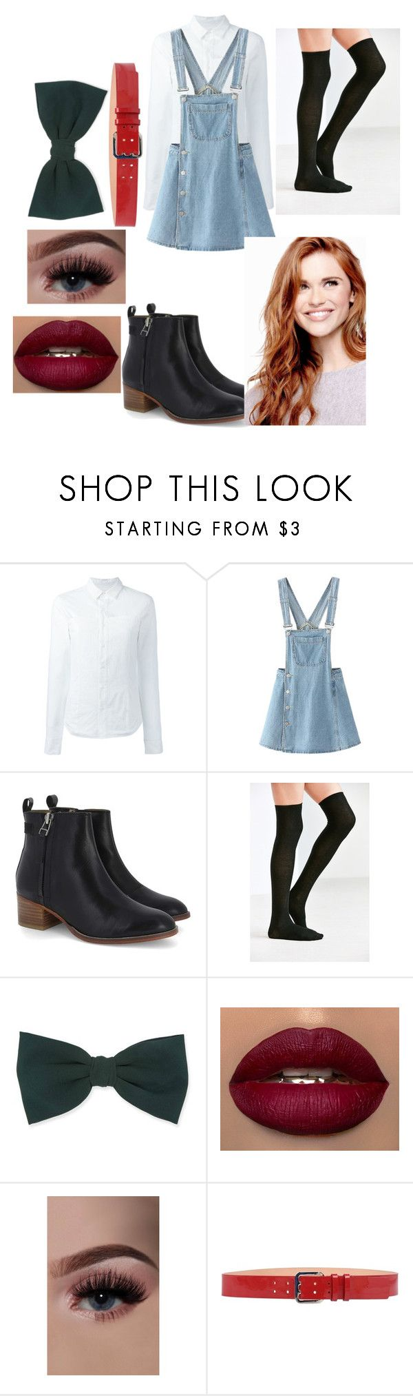 """""""Holland Roden style"""" by kayla-allaire on Polyvore featuring A.F. Vandevorst, WithChic, Urban Outfitters, Forever 21 and Dsquared2"""