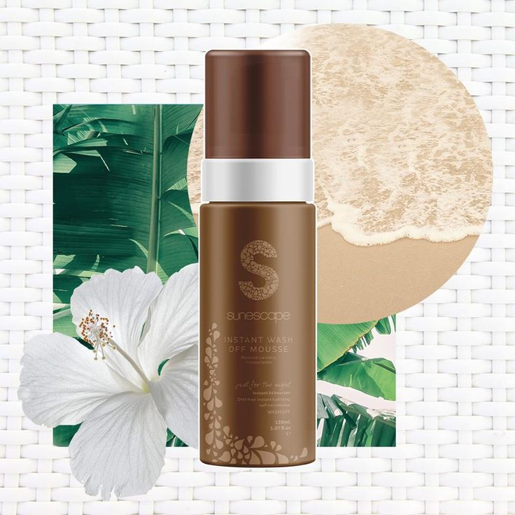 Mousse on, wash off!Whether it's for a one night tan, or a day long glow, enhance your skin with our Instant 24 hour wash off tan. Just glow & go, without the commitment. #sunescapetan