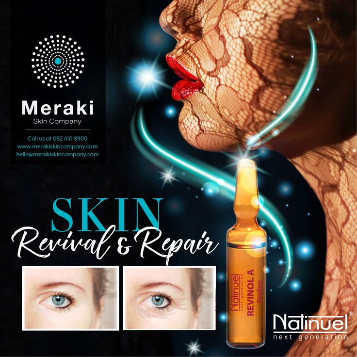 Natinuel next generation Revinol treatment combines retinol, Vit C and antioxidants for anti-ageing benefit, improving tone, texture, elasticity, barrier function, hydration and hyperpigmentation, and normalising the regulation of oil for acne-prone skins. For more information visit our website www.merakiskincompany.com or contact us at hello@merakiskincompany.com #MerakiSkinCompany #Natinuel #ProfCeccarelli #aesthetics #skin #business #entrepreneur #training #practicaltools #injectables…