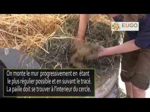 Construction d'un four à pain en terre crue Tutotriel en français