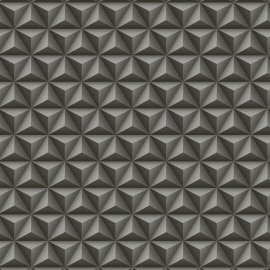 Papel De Parede Coleção Diplomata Geométrico 3D Preto 3123