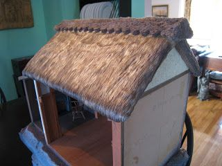 47 Best Dollhouse Thatch Roof Images On Pinterest Doll