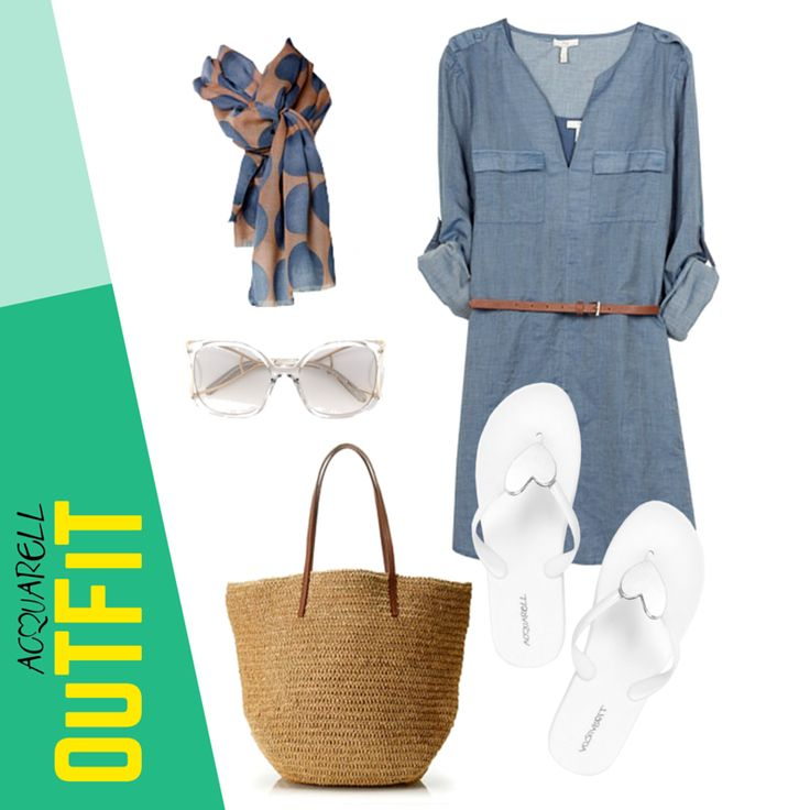 Un look casual y cómodo, ideal para disfrutar de una tarde de paseo. Este es un #OutFitAcquarell Adquiérelas en http://amzn.to/1LwfczZ  #Acquarell #Playa #Verano #Beach #SummerOutfit #OutfitBeach #Outfit #Chic #Moda #Sexy #Love #FlipFlops #Amazon #HechoEnVenezuela #Venezuela #Usa #Panama #Mexico #PuntaCana #Colombia #Summer #Spring