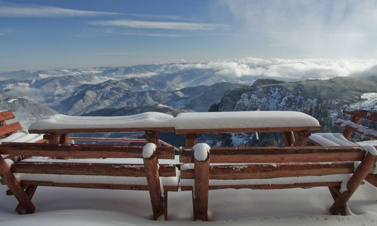 Winter images from the spectacular Ceahlau Mountains,Romania.