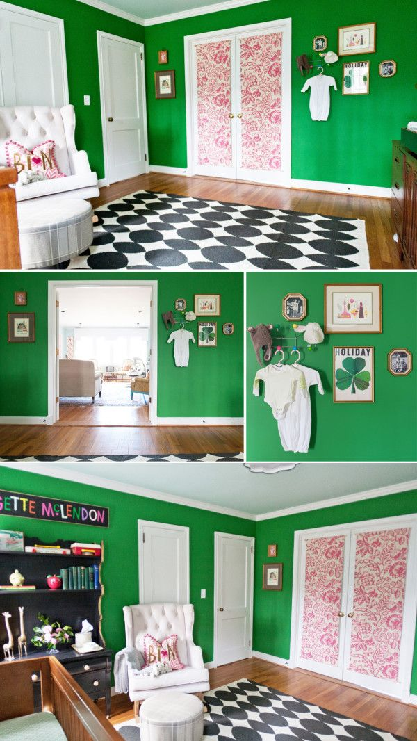 Brigette Mclendon S Nursery Green Bonus Rooms And