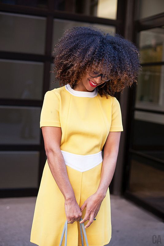Top saved style for natural hair.