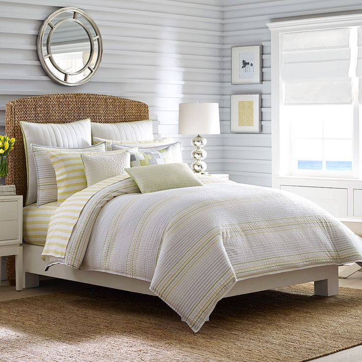 Nautica west bay comforter duvet set beautiful bedroom ideas beddingsets bedlinen for Beautiful bedroom comforter sets