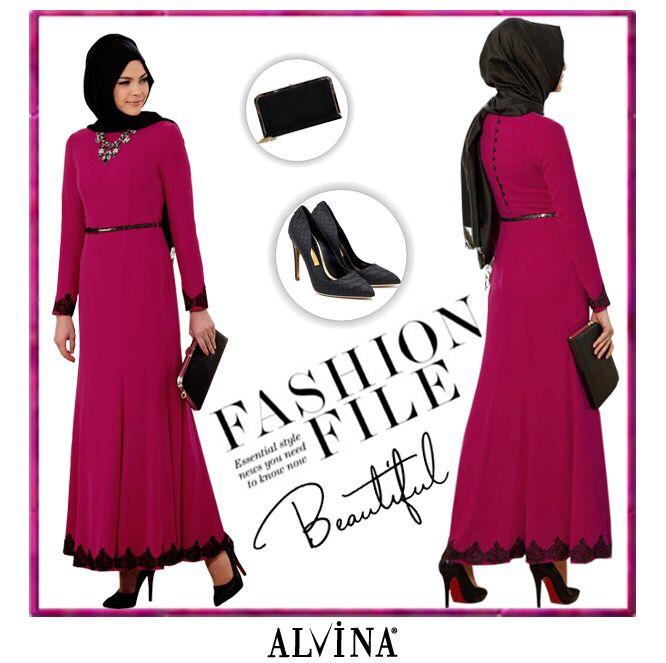 Alvina ile şık ve stil sahibi.. #alvina #alvinamoda #alvinafashion #alvinaforever #hijab #hijabstyle #hijabfashion #tesettür #fashion #stylish #new #dress #fashionfile #beautiful #havalı #bambaşka #alvinakadını