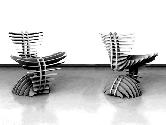 Futuristic Model Of Chairs