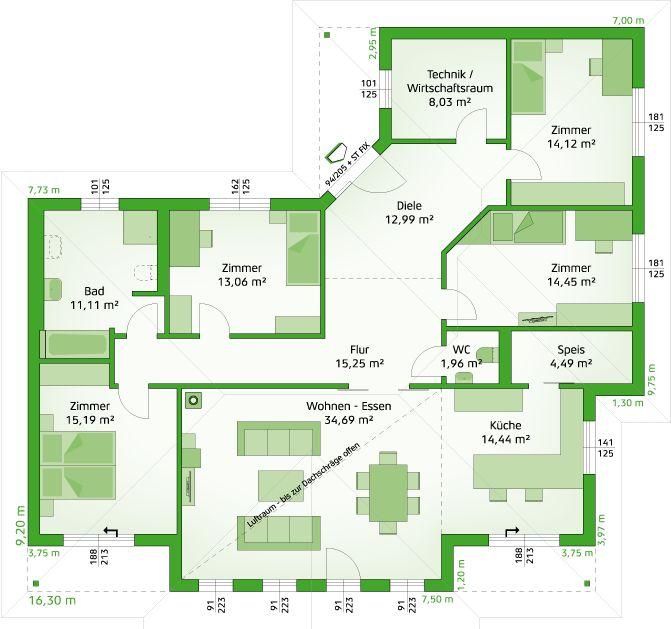 Bungalow modern bauen  Die besten 25+ Moderner bungalow Ideen nur auf Pinterest ...