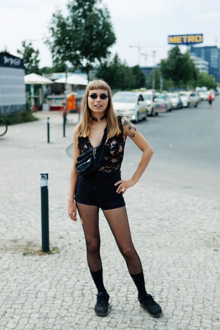What People Wear To Get Into Berghain, The World's Most Exclusive Nightclub #refinery29 http://www.refinery29.com/berghain-berlin-street-style-pictures#slide-22