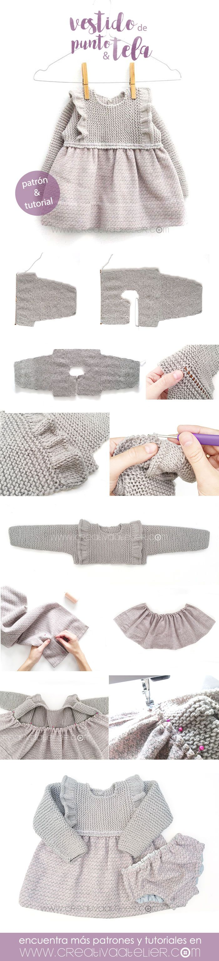 60 best Bebe images on Pinterest | Baby knitting, Knit crochet and ...