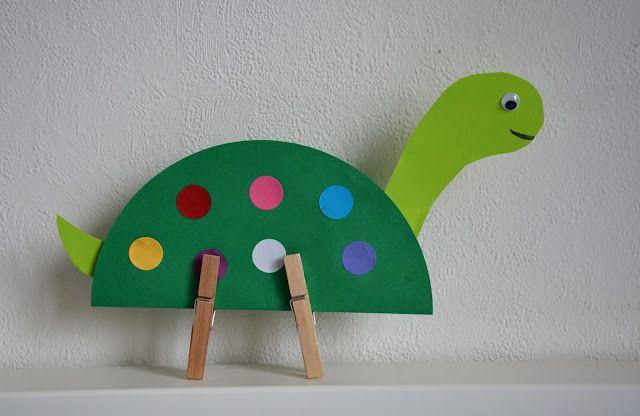 Wczesna edukacja Zosi. Świat Zosi w pigułce.: Praca plastyczna: Dinozaur
