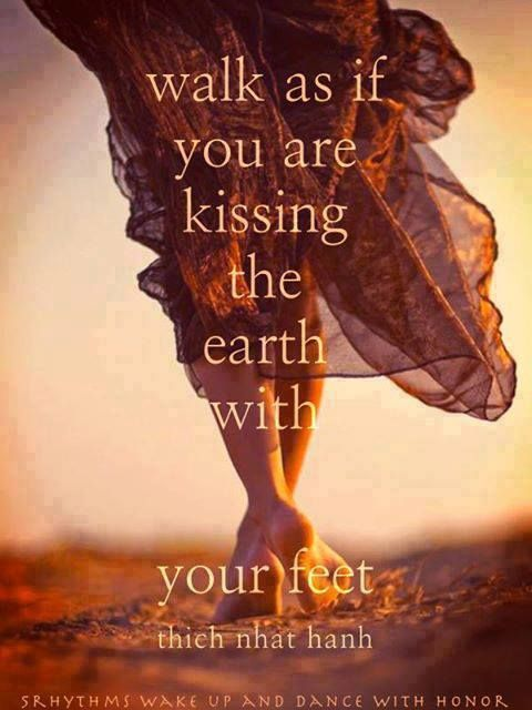 create precious, reverent, mindful connection     our feet are what connects us to our sacred earth and all of her energies.