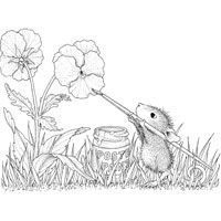 house mouse pansies - Google zoeken