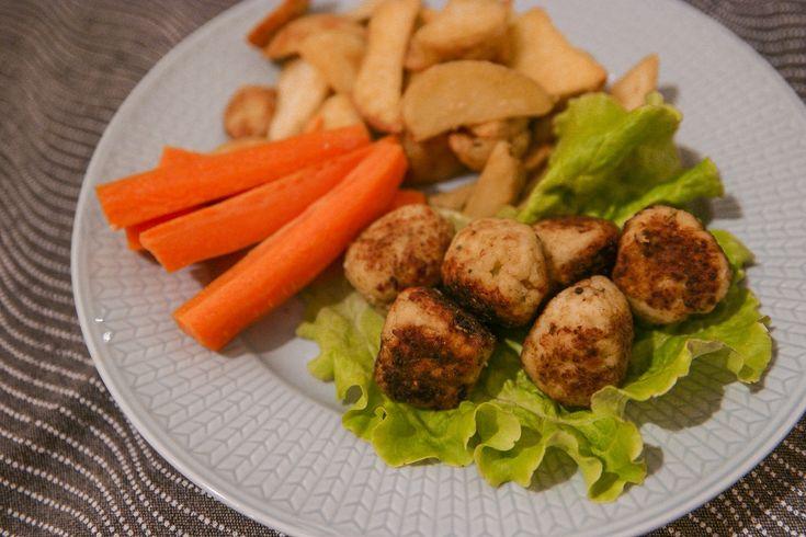Blomkålsbollar vegetariska köttbullar recept blomkålsbiffar | Bambi