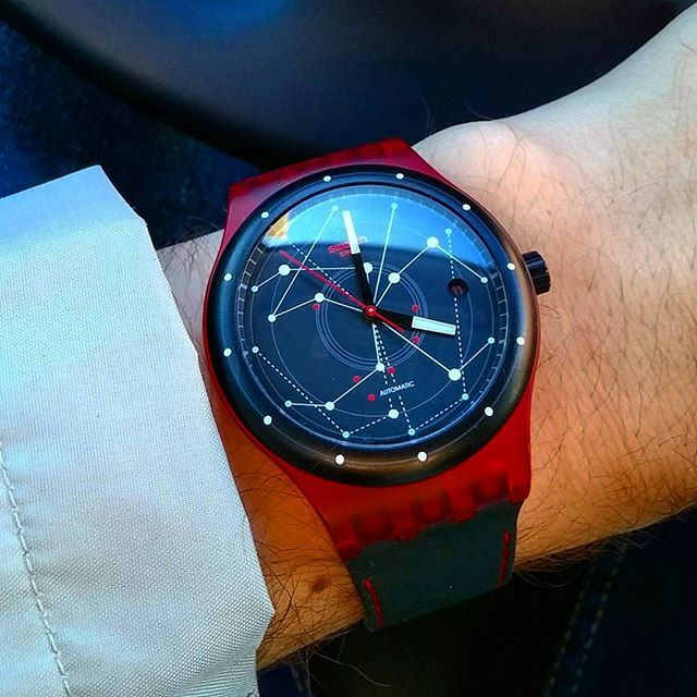 swatch sistem red mywatchlife