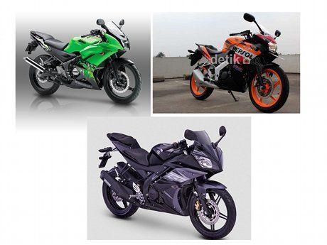 Perbandingan Yamaha R15, Honda CBR150R, dan Kawasaki Ninja RR ~ Auto Formula MT27 Multi Kredit Motor dan Mobil Murah