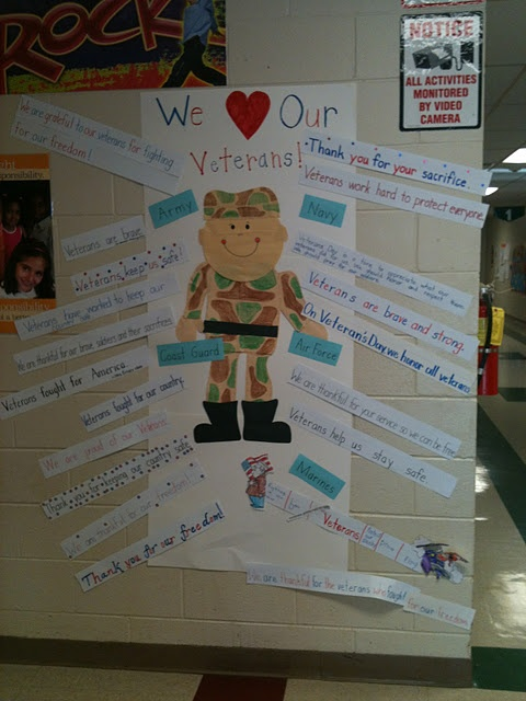 Classroom Ideas For Veterans Day : Best veterans day kids classrooms activities crafts