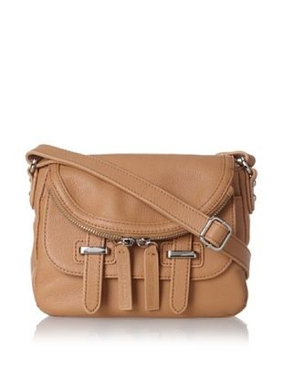 65% OFF Charles Jourdan Women's Kelsi Mimi Cross-Body, Tan