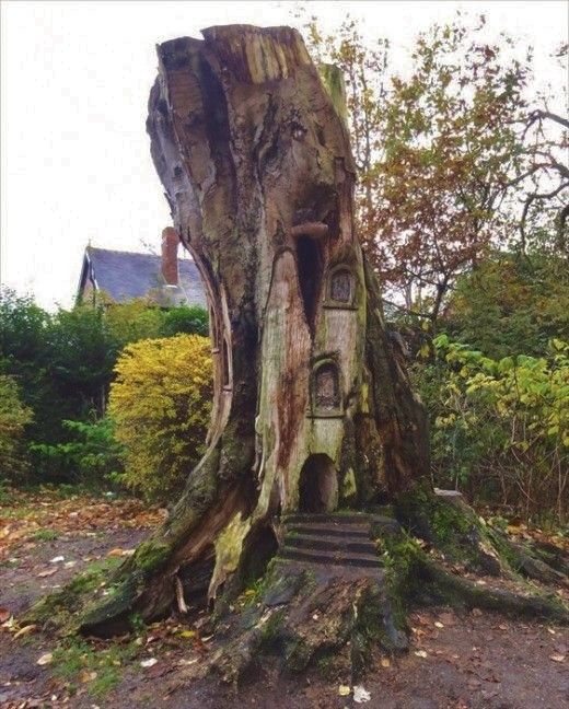 110 best fairy houses in tree stumps images on pinterest fairies garden fairy gardens and gnome garden