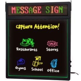 Royal Sovereign 19-In Multi-Function Led Message Board Lighted Sign Rsb-1360
