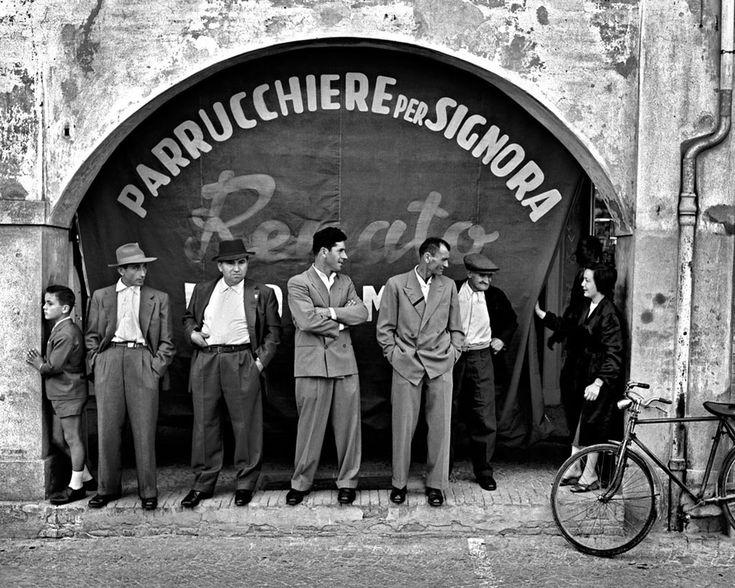 Ladies hairdresser by Nino Migliori Emilia, Italy, 1957