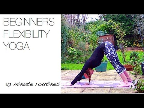 Beginner to Yoga? This video is perfect to get you on the road to flexibility.