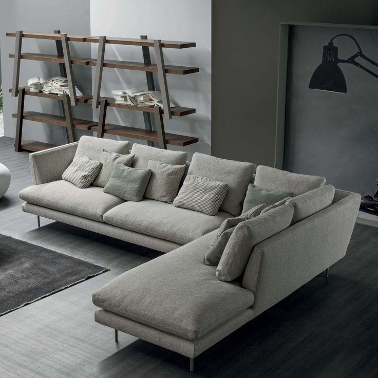 Canapé d'angle de design Lars - ARREDACLICK