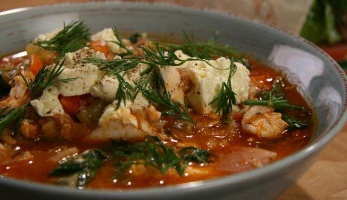 Greek Fish Stew   Good Chef Bad Chef