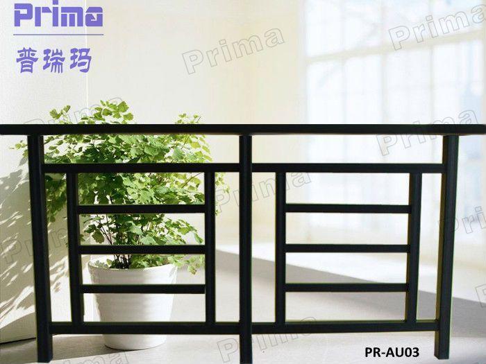 Decorative Outdoor Metal Iron Stair Railings / Handrails Pr-auo3 ...