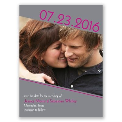 Photo Metro - Begonia - Save the Date
